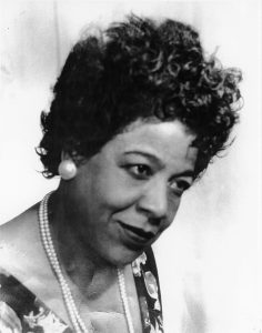 Virgie Carrington DeWitty, Photo Courtesy Mrs. Martha Maya, Texas Music Museum Archives