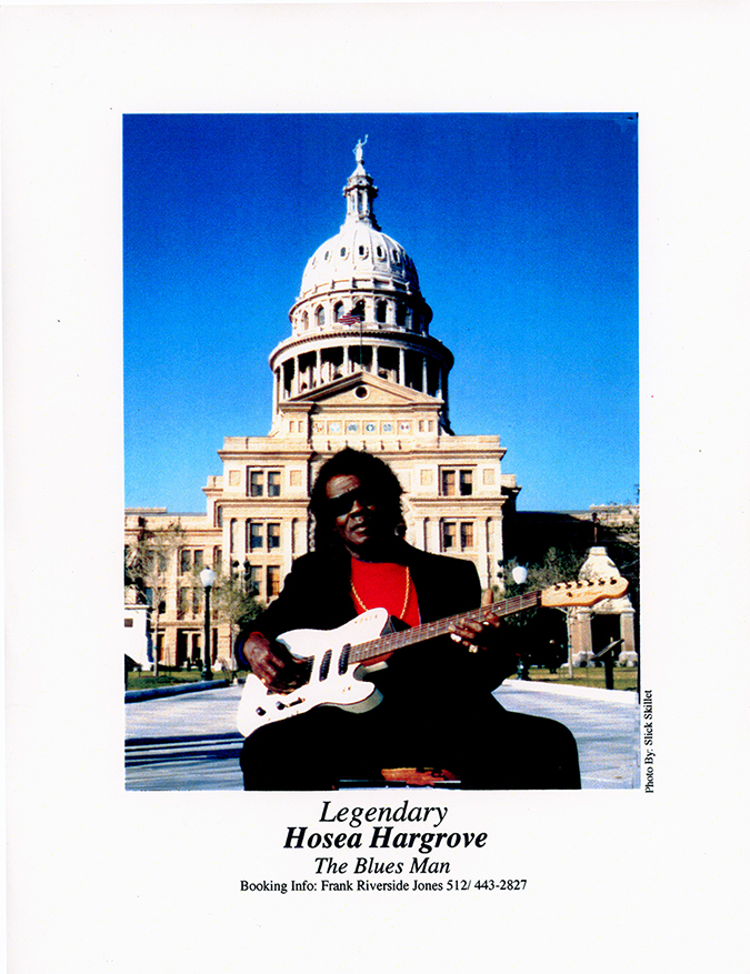 Hosea Hargrove in front of the Texas Capitol in Austin, Texas