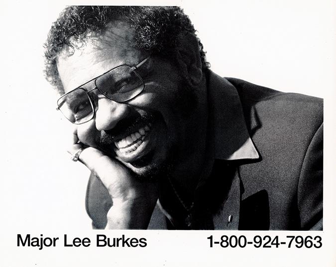 Major Lee Burkes